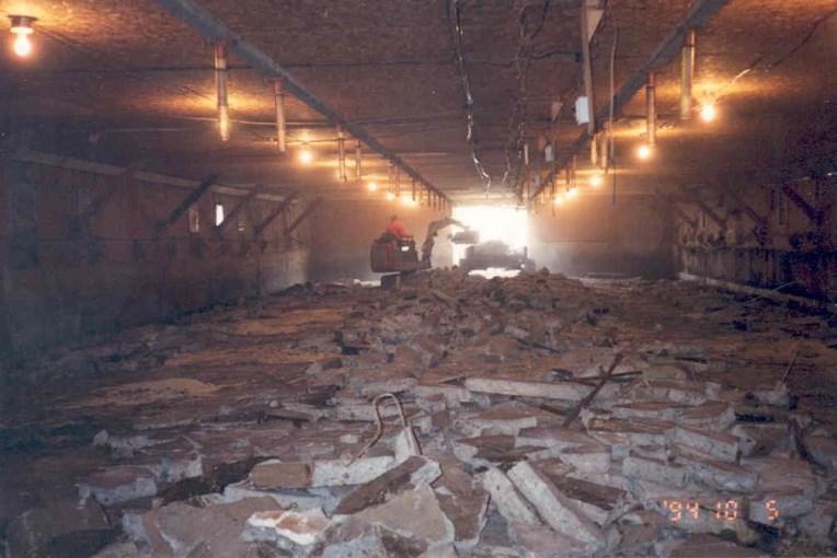 Rénovations de 1994